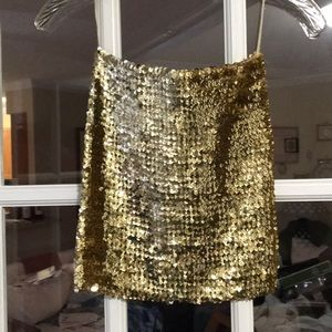 Free people sequined tube top